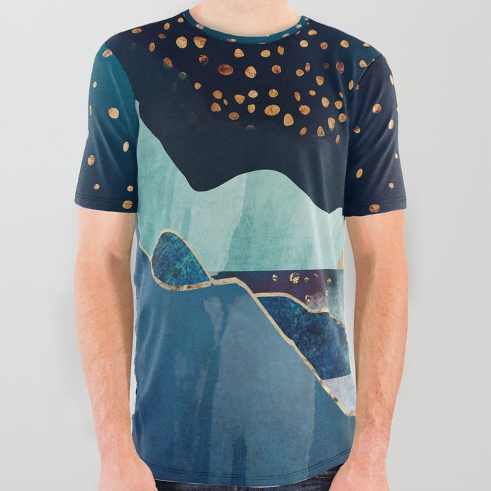 Moon Glow All Over Graphic Tee