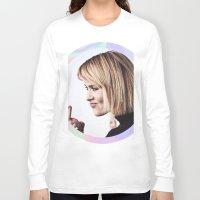 sarah paulson Long Sleeve T-shirts featuring Sarah Paulson aka baddest bitch in town  by IrasHorrorStory