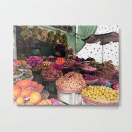 Phu Quoc Market Metal Print