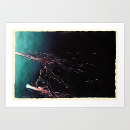 Bodies in Space: Coming Home Art Print