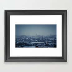 Waking Up Under the Snow Framed Art Print