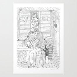 beegarden.works 008 Art Print