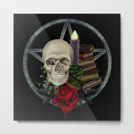 Gothic Dark Magic Metal Print