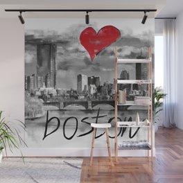 I love Boston Wall Mural