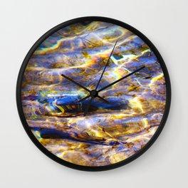 All Water is Ganga Wall Clock