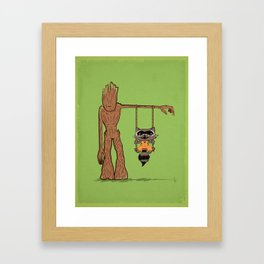 Come Swing With Me Framed Art Print