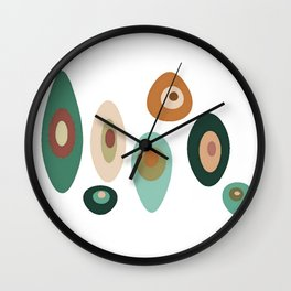 Pod People Wall Clock