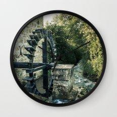 Ye olde mill Wall Clock