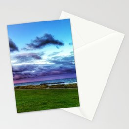 Last colours of the day Stationery Cards