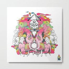 O K A Y Metal Print
