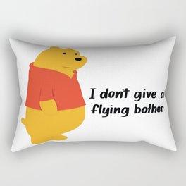 I dont give a bother Rectangular Pillow
