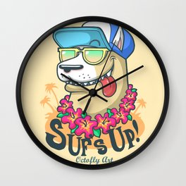 Suf's Up! Wall Clock