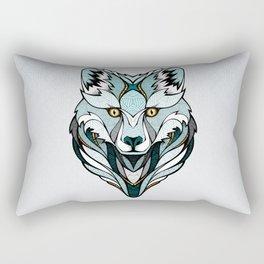 Little Polar Fox Rectangular Pillow
