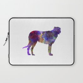 Irish Wolfhound in watercolor Laptop Sleeve