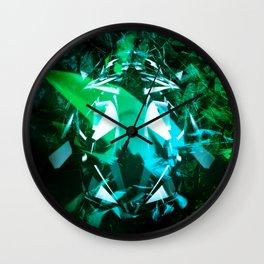Broken Gradient Wall Clock