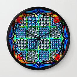 Framed 7 Wall Clock