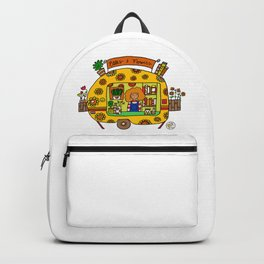 caravan flowerpower Backpack
