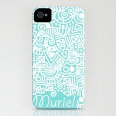 Tiffany Doodle iPhone (4, 4s) Slim Case