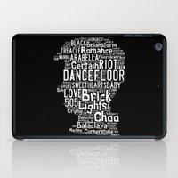 alex turner iPad Cases featuring Alex Turner by Erick Navarro