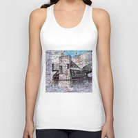 ohio Tank Tops featuring Ohio by Ursula Rodgers