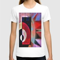 asian T-shirts featuring Asian Lights by Kristine Rae Hanning
