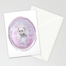 YUKI ONNA PINK Stationery Cards