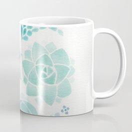 Watercolor Succulent Garden 3 Coffee Mug