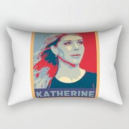 Hope Poster of Katherine Ryan Essential Rectangular Pillow