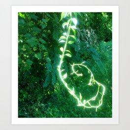 Magic Vine Art Print