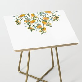 A Bit of Spring and Sushine Trailing Oranges Side Table