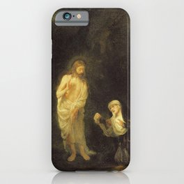 Rembrandt - Christ Appearing to Mary Magdalene, 'Noli me tangere' iPhone Case