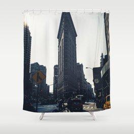 Flatiron Shower Curtain