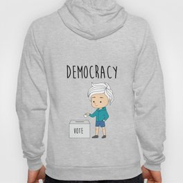 International Day of Democracy - celebrate the day for the human rights Hoody
