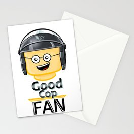 Good Cop Fan Stationery Cards