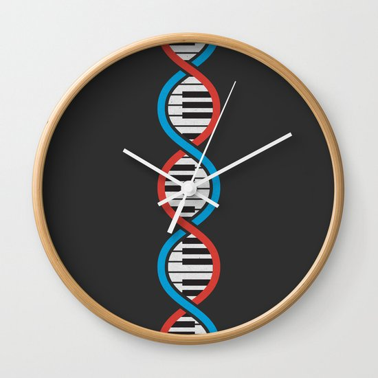 In Our Blood Wall Clock