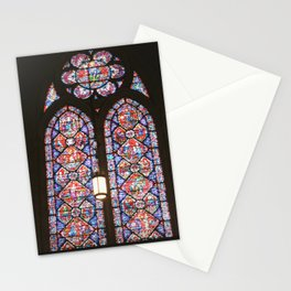 Stained Glass Window Stationery Cards