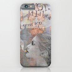 Smoking girl iPhone 6 Slim Case