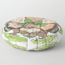 Earth Dreaming Floor Pillow