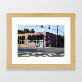 The Boulevard Framed Art Print