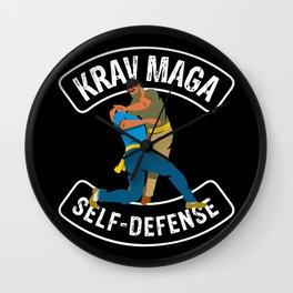 Krav Maga self-defense martial arts Wall Clock