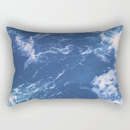 Waves No. 1 Rectangular Pillow
