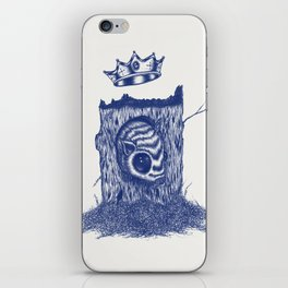 King of the Little Forrest iPhone Skin