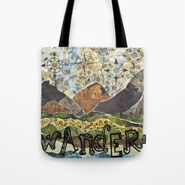 Compass Rose Garden Tote Bag