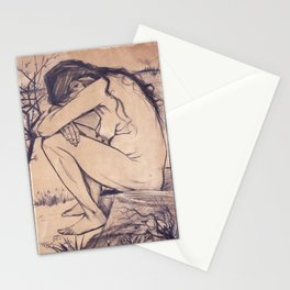 Sorrow by Vincent van Gogh, 1882 Stationery Cards