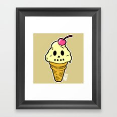 Sweet Death Framed Art Print