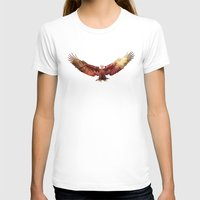 eagle T-shirts featuring Eagle by ron ashkenazi