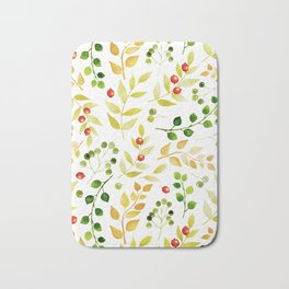 Branches and Leaves 2 Bath Mat