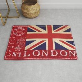 Union Jack Great Britain Flag Rug