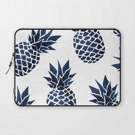 Pineapple Blue Denim Laptop Sleeve