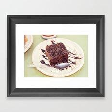 dessert Framed Art Print